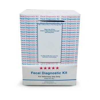 Fecatector Fecal Diag Kit 50 Box Laboratory Supplies