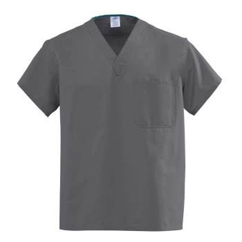 TOP,SCRUB,REV,A-STAT,CHARCOAL,MDL-CC,XL,EA