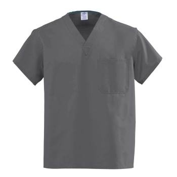 TOP,SCRUB,REV,A-STAT,GRAY,ANG-CC,XL,EA