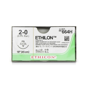SUTURE,ETHILON,2-0,FS,36/BX