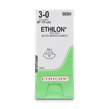SUTURE,ETHILON,3-0,FS-1,36/BX