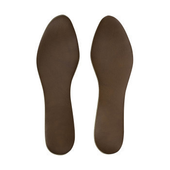 INSOLE,SPORTS MOLD,W/OUT FLANGE,BROWN,WOMEN'S LARGE,PAIR