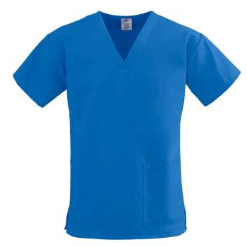 TOP,SCRUB,2LOWER-PKTS,C-EASE,ROYAL,2XL,EA