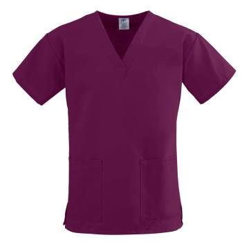 TOP,SCRUB,2LOWER-PKTS,C-EASE,WINE,MD,EA