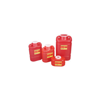 CONTAINER,SHARPS,2 GAL,PEARL,FUNNEL TOP,10 EA/CS