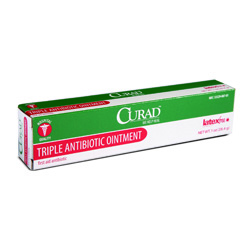 Topicals triple antibiotic ointment 1oz tube 12 case for Triple antibiotic ointment on tattoos