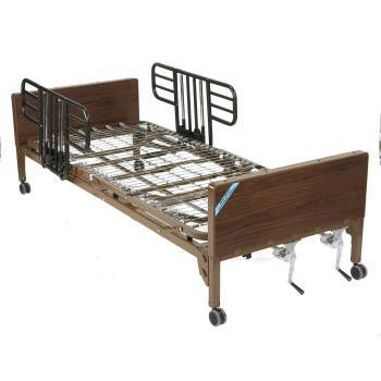 Manual Hospital Bed Brown 36 Size Furnishing
