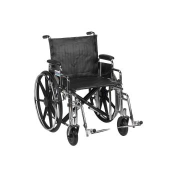 WHEELCHAIR,EXTRA HEAVY DUTY,BARIATRIC,20IN