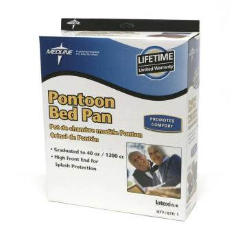 PONTOON BEDPAN, RETAIL,4 EA/CS