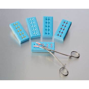 BOOT,SUTURE,STANDARD,YELLOW-IN-BLUE,50 EA/CS