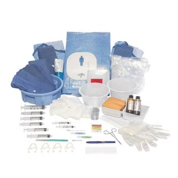 PACK, CATHETER LAB I,3 EA/CS