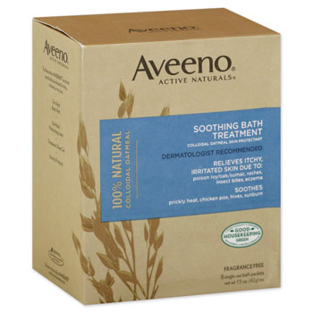 TREATMENT,BATH,AVEENO SOOTHING,OUT OF DATE,8/BOX