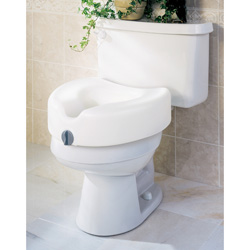 "SEAT,TOILET,RAISED,5"",LOCKING,EACH,EA"