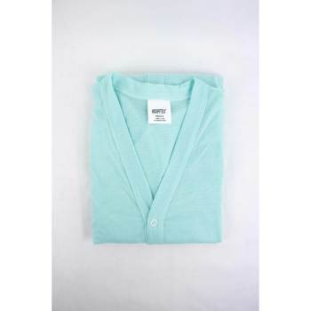 PAJAMA TOP, W/SNAP FRONT,LT BLUE,SMALL/MEDIUM,EACH