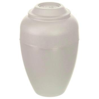 Urn,Urnee large cremation urn, tan