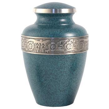 Urn,Avalon evening blue urn-large