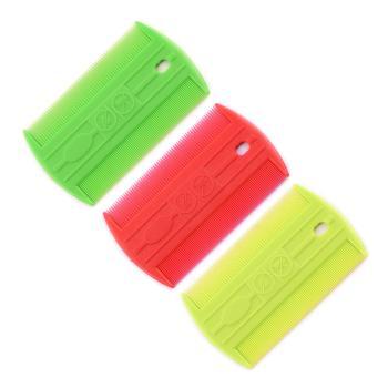 Flea comb,Disposable plastic flea comb, doz