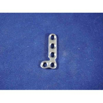 T-Plate, 2.7mm T 5 hole angle R, 32mm
