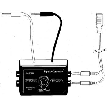 Electrosurgical unit,Bipolar converter