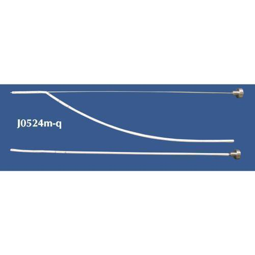 Drain, thoracic metal stylette, 12fr
