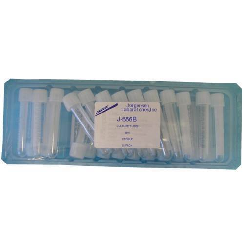Tube, sterile cultur, 16ml, 25/bag