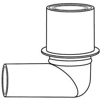 ANESTHESIA ELBOW CONNECTOR