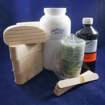 "Technovit 12 treatment kit w/ 2"" wood blocks"