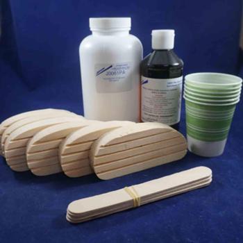 """Technovit 6 treatment kit w/ 1"""" wood blocks"""