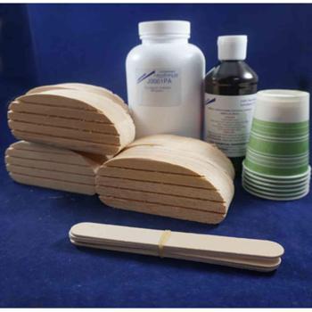 """Technovit 6 treatment kit w/2"""" wood blocks"""