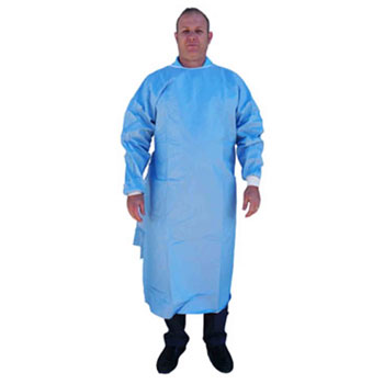 Gown, sms surgical, non-sterile, x-large