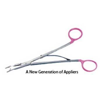 Clip, medium/large applicator, angled 28cm