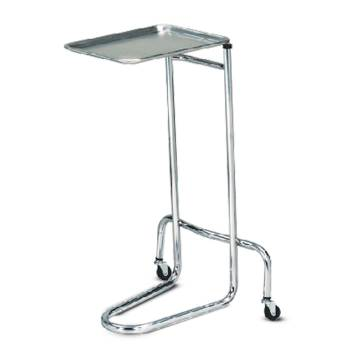 "MAYO STAND,S/S, DOUBLE POST,21""X20"",BASE"