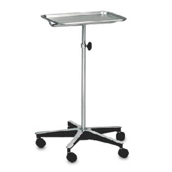 MOBILE INSTRUMENT STAND,S/S,5-LEG