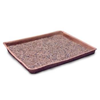 PAN, DISPOSABLE PULP LITTER PAN,250/PK