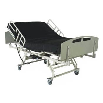 BED,BARIATRIC,RAILS,HEAD/FOOT,48WX84L,EA