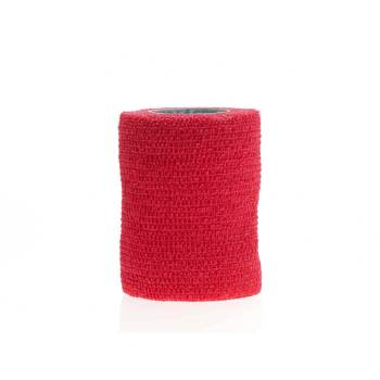 BANDAGE,COFLEX,3X5YD RED N/S,MEDLINE 24/CS