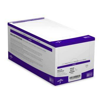 GLOVE,STERILE LATEX P/F MEDIUM 50/BOX