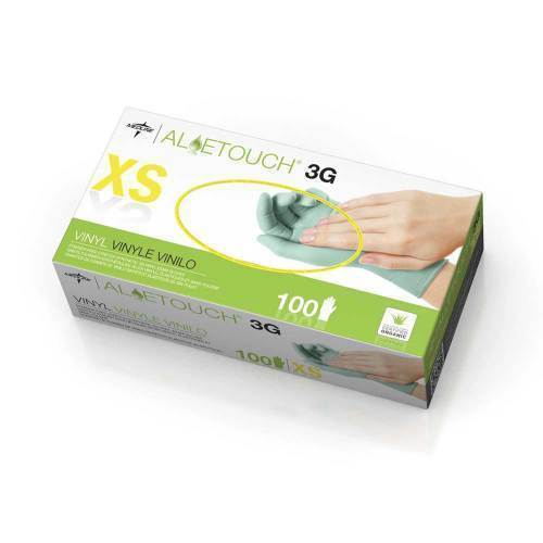 GLOVE,EXAM,SYNTHETIC,ALOETOUCH 3G,PF XS,1000 EA/CS