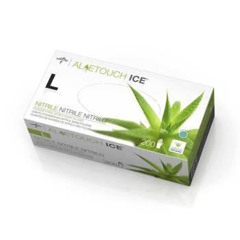 GLOVE,NITRILE ALOETOUCH ICE P/F L/F LARGE 200/BOX