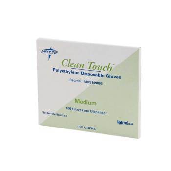 GLOVE,POLY,CLEAN TOUCH,NON-MED,LG,10000 EA/CS
