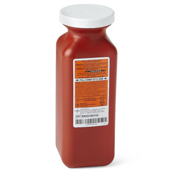 CONTAINER,SHARPS,1.5QT.,RED,TRANSPORTBL,EA