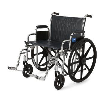 "WHEELCHAIR,EXCEL,22"" WIDE,RDLA,S/A FT,EA"