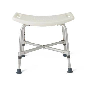 "BENCH, BATH, W/O BACK, ADJ, 14""-17"", 550CAP"
