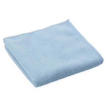 "CLOTH,CLEANING,MICROFIBER,12""x12"",BLUE,250/CASE"
