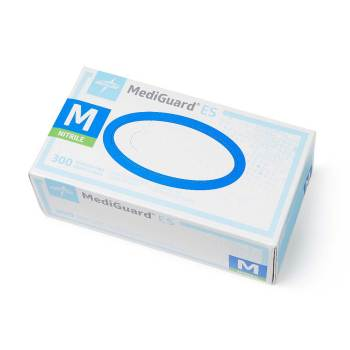 GLOVE, EXAM, NITRILE, NON-STERILE, MEDIUM, 300 EACH/BOX