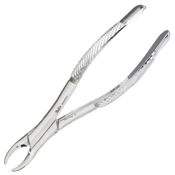 DENTAL,FORCEPS,EXTRACTING,#150 1/2S,MILTEX