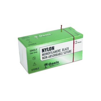SUTURE,NYLON,5-0,NFS-2,DZ