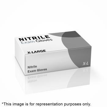 GLOVE, NITRILE, XL, 100/BX