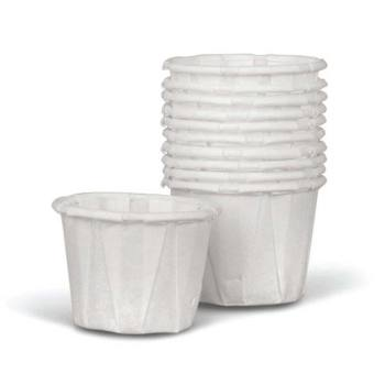 CUP,SOUFFLE,PLEATED,.50 OZ,250 EA/BX