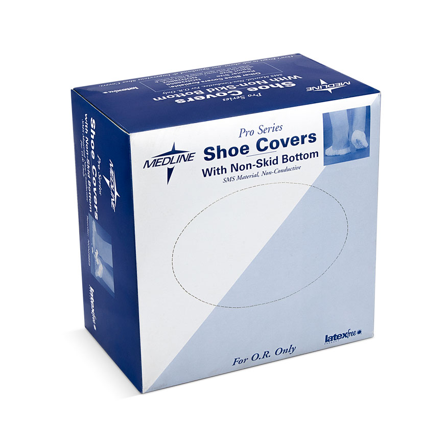 COVER,SHOE,3-LAYER,NONSKID,BLUE,XLG,200 EA/CS